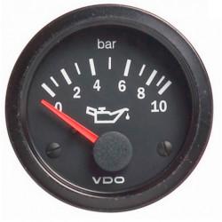 VDO датчик Налягане на маслото(0-10 BAR) - cocpit vision series