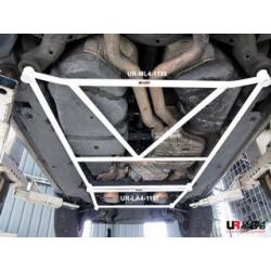 VW Touareg 5.0 V10 02+ UltraRacing 4-точки долна H-разпънка