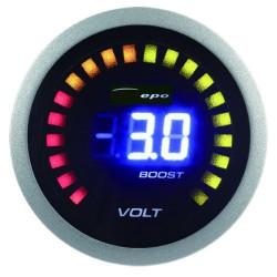 DEPO racing датчик 2в1 волтомер + налягане на турбото Digital combo series