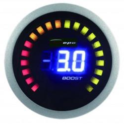 DEPO racing датчик 2в1 за температура на отработените газове + налягане на турбото Digital combo series